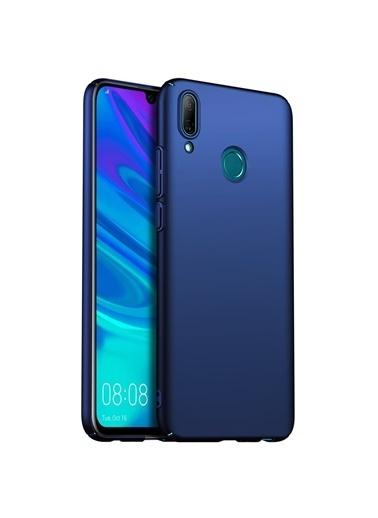Microsonic Huawei P Smart 2019 Kılıf Premium Slim Lacivert Lacivert